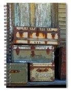 Vintage Trunks   Sold Spiral Notebook