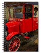 Vintage Van Spiral Notebook