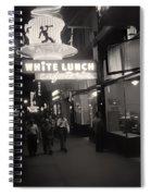 Vintage Vancouver 1950 Spiral Notebook