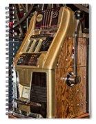 Vintage Vegas Spiral Notebook
