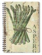 Vintage Vegetables 1 Spiral Notebook