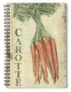 Vintage Vegetables 4 Spiral Notebook