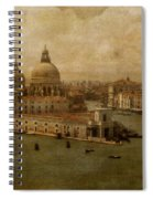 Vintage Venice Spiral Notebook