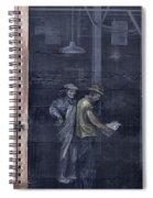 Vintage Warehouse Spiral Notebook