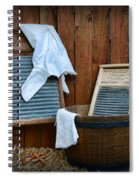 Vintage Washboard Laundry Day Spiral Notebook