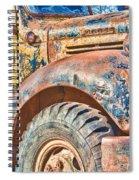 Vintage Welding Truck Spiral Notebook