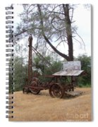 Vintage Well Driller 2 Spiral Notebook