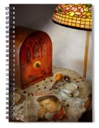 Vintage - What's On The Radio Tonight Spiral Notebook