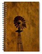 Vintage Windmill  Spiral Notebook