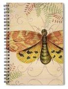 Vintage Wings-paris-c Spiral Notebook