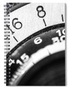 Vintage Yashica 635 - Aperture Selector Spiral Notebook