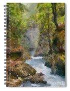 Vintgar Gorge Spiral Notebook