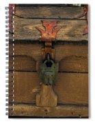 Vintge Strong Box Spiral Notebook