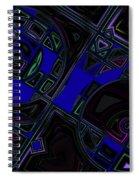 Vinyl Blues Spiral Notebook
