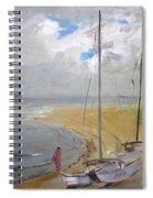 Viola In Virginia Beach Spiral Notebook