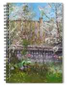 Viola's Apple And Cherry Trees Spiral Notebook