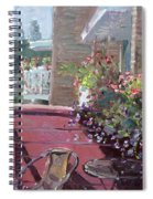 Viola's Balcony Spiral Notebook