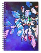 Violet Illumination Spiral Notebook