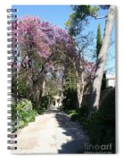 Violet Tree Alley Spiral Notebook