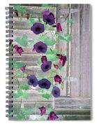 Violet Vine - Photopower 324 Spiral Notebook