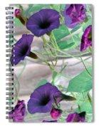 Violet Vine - Photopower 326 Spiral Notebook