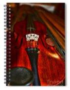 Violin Study Spiral Notebook