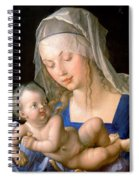Virgin And Child Holding A Half-eaten Pear, 1512 Spiral Notebook