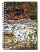 Virgin Falls Spiral Notebook