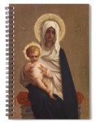 Virgin Of The Deliverance Spiral Notebook