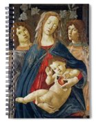 Virgin Of The Pomegranate Spiral Notebook