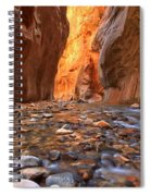Virgin River Rocks Spiral Notebook