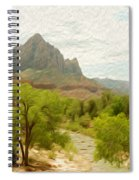 Virgin River Through Zion National Park 2 Spiral Notebook