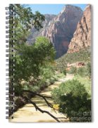 Virgin River Zion Valley Spiral Notebook