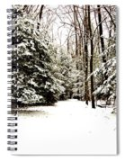 Virgin Snow Spiral Notebook