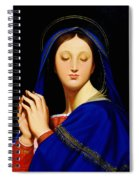 Virgin With The Host After Ingres Spiral Notebook