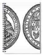 Virginia Company Seal Spiral Notebook