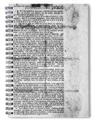 Virginia: Constitution Spiral Notebook