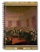 Virginia Convention 1829 Spiral Notebook