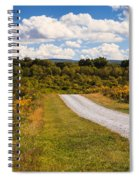 Yesterday - Virginia Country Road Spiral Notebook