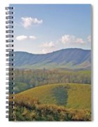 Virginia Mountains  Spiral Notebook