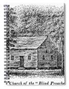 Virginia Rural Church Spiral Notebook