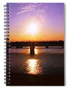 Virginia Sunset Spiral Notebook