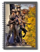 Virginia To Her Sons At Gettysburg - War Fighters - Band Of Brothers 1a Spiral Notebook