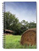 Virginia Tobacco Barn Spiral Notebook