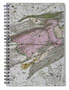 Virgo From A Celestial Atlas Spiral Notebook
