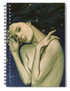 Virgo  From Zodiac Series Spiral Notebook
