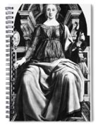 Virtues Prudence C1470 Spiral Notebook