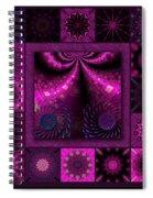Virulent Lightwaves Redux  Spiral Notebook