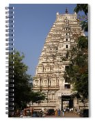Virupaksha Temple In Hampi Spiral Notebook