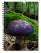 Viscid Violet Cort Spiral Notebook